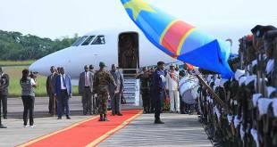Arrivée de Fatshi à Kisangani dans la Province de la Tshopo, mardi 23 avril 2019.