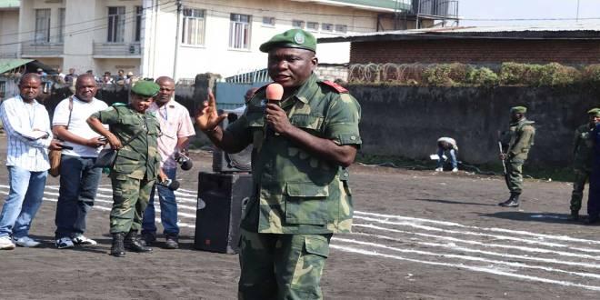 Le général de division Gabriel Amisi Kumba dit Tango Four était le chef d'état-major des Forces Terrestres de l'armée de la RDC.