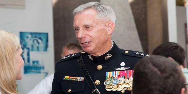 Le commandant de l'Africom, le général Thomas David Waldhauser.
