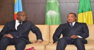Fatshi, President de la RDC et son homologue de Brazzaville, Denis SASSOU N'GUESSO.