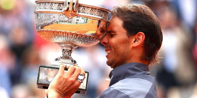 Rafael NADAL, Champion, Roland Garros 2019.