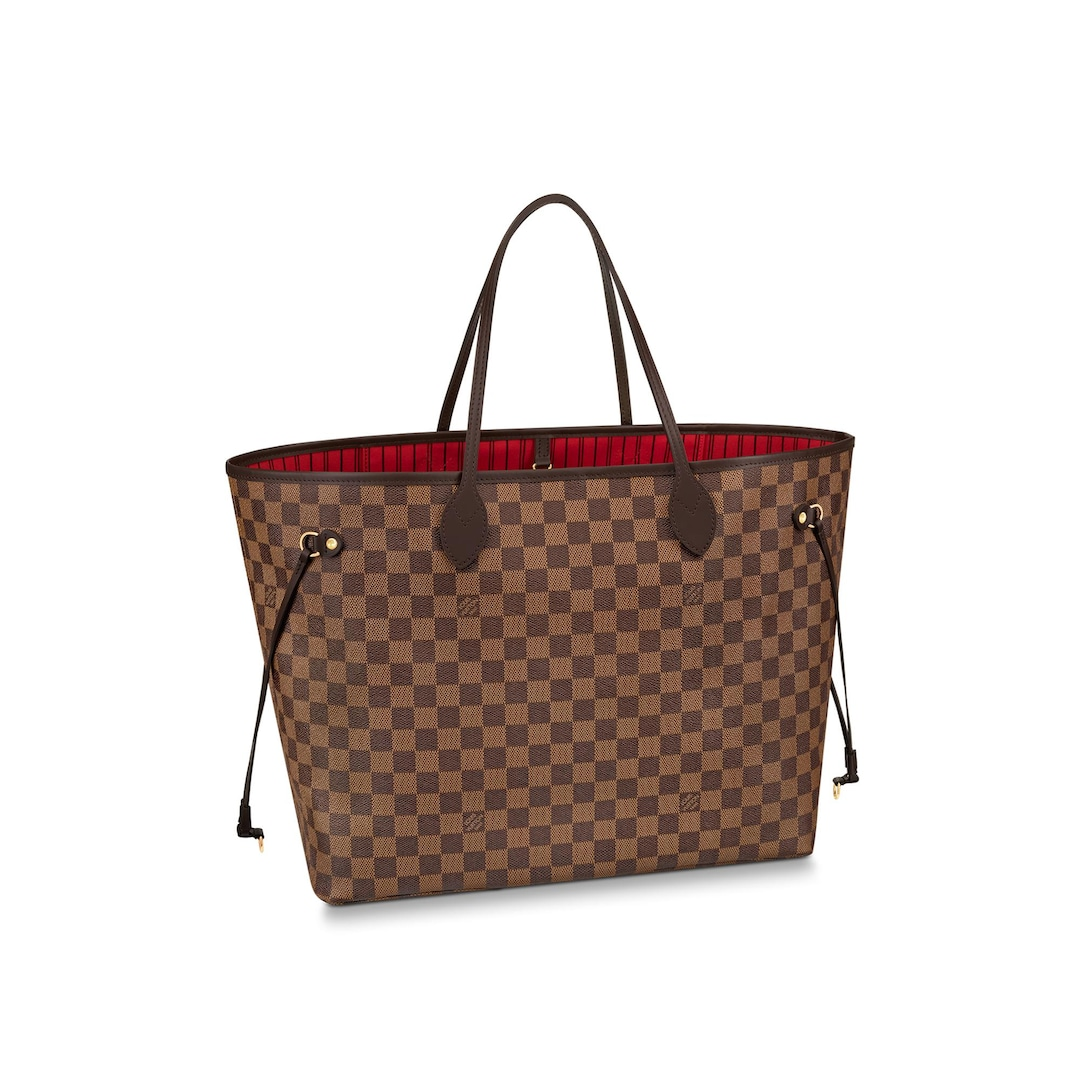 Neverfull GM Toile Damier Ebène Femme Sacs à main  | LOUIS VUITTON