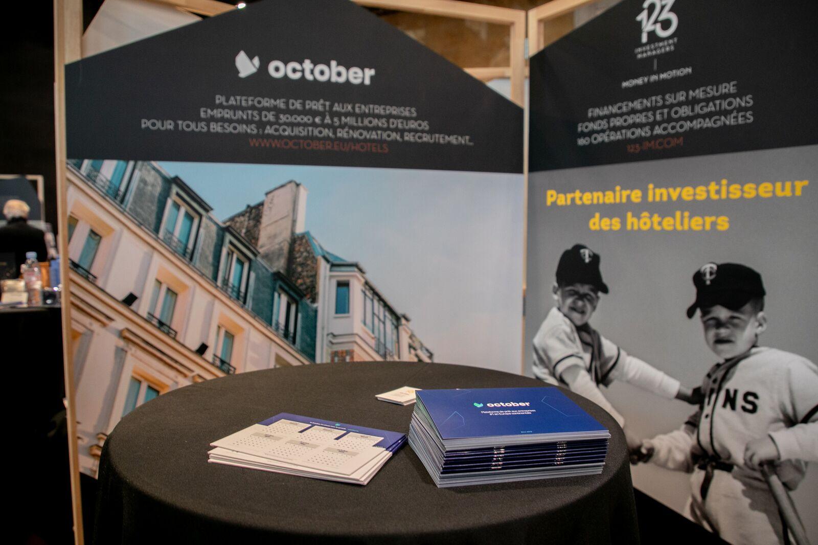 October présent aux Hôtel & Lodge Business Meetings & Awards