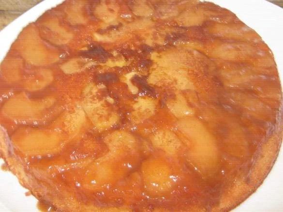 le gateau de pepe aux pommes et caramel au beurre sale