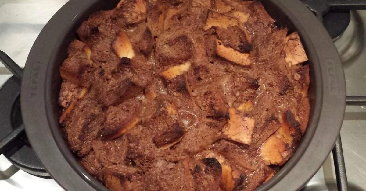 gateau de pain perdu au chocolat