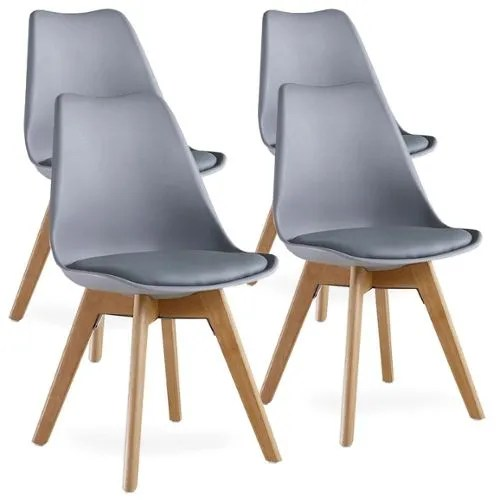 achat chaise scandinave grise pas cher