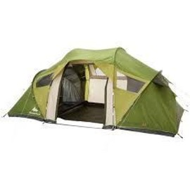 tente de camping familiale arpenaz 4 2 xl 4 personnes 2 grandes chambres quechua