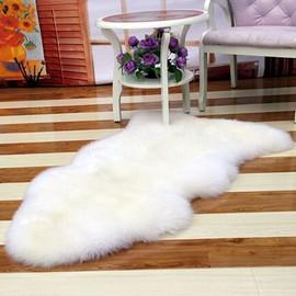 achat tapis peau mouton a prix bas