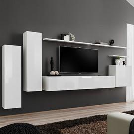 achat meuble tv suspendu a prix bas