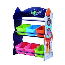 achat meuble rangement enfant pas cher