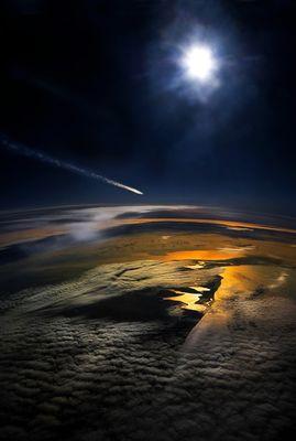 Comète & Earth