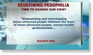 Redéfinir la pédophilie ?