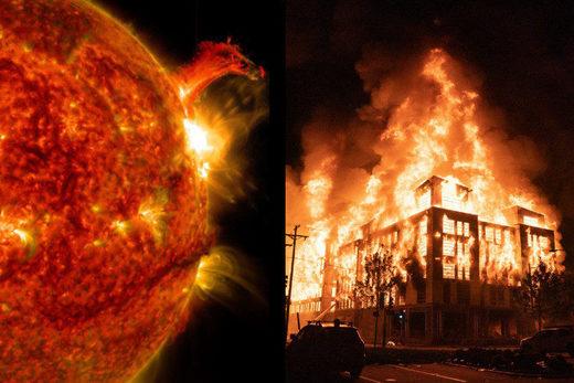 SOTT FOCUS: Les plus fortes éruptions solaires coïncident depuis des années avec des émeutes, soulignant le lien établi de façon historique entre activité solaire et désordres