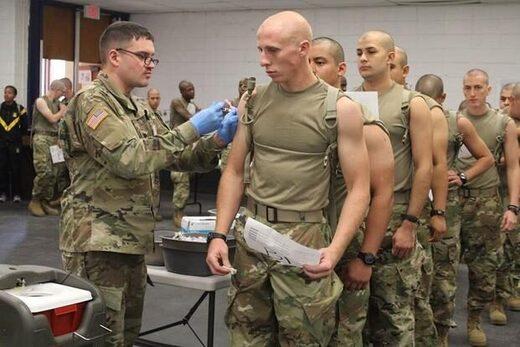 Vaccination des soldats américains