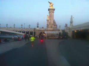 Vélo sur berges à Paris