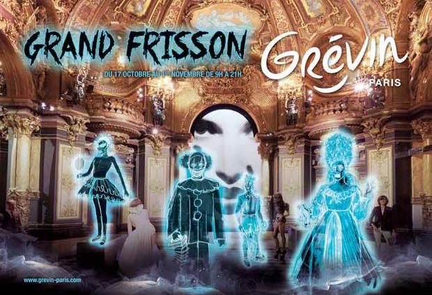 Halloween 2015 au Musée Grévin 2015
