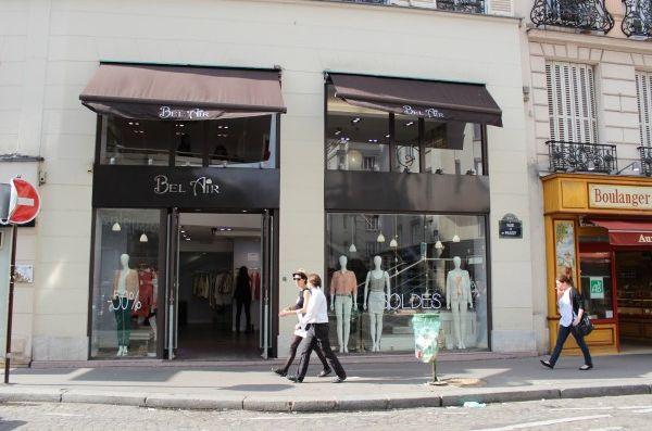 Boutique Bel Air rue de Passy