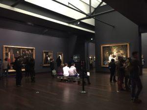 Visiteurs au Musée d'Orsay Paris