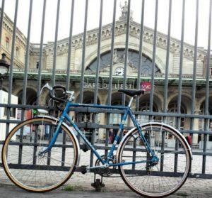 Vélo à Gare de l'Est