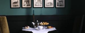 Bruncher au salon de thé Miss Marple