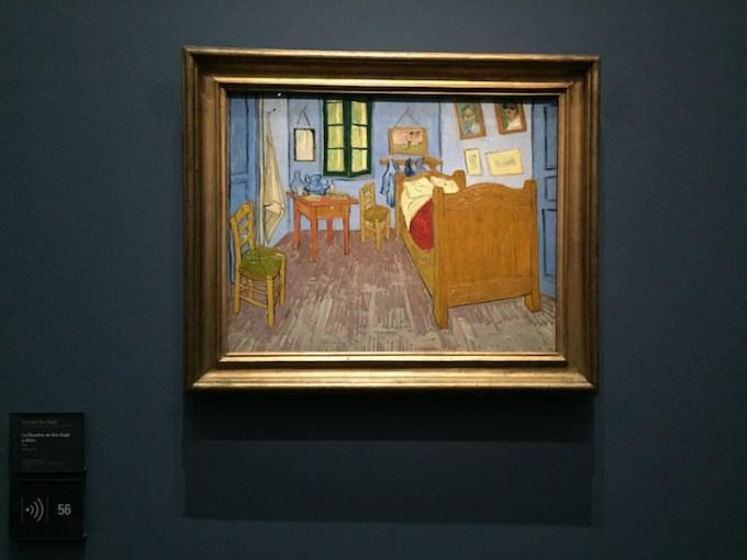Chambre de Van Gogh à Arles au Musée d'Orsay