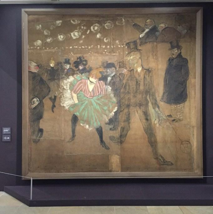 La Danse au Moulin Rouge de Toulouse-Lautrec au Musée d'Orsay