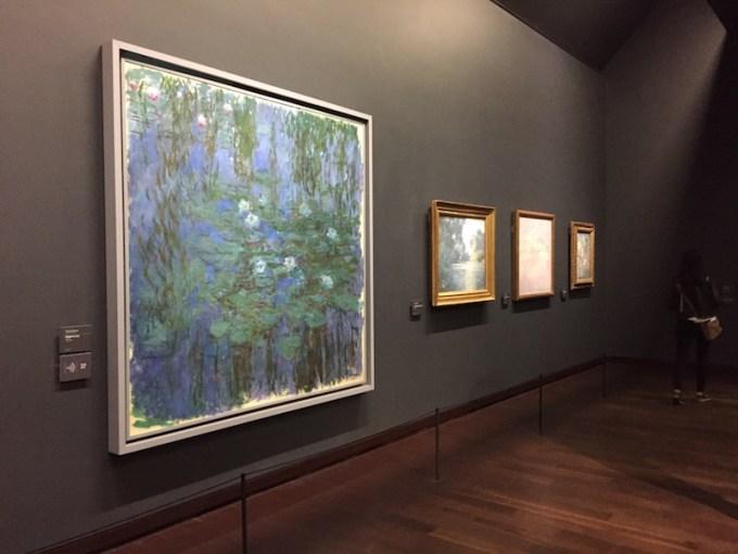 Nymphéas de Monet au Musée d'Orsay