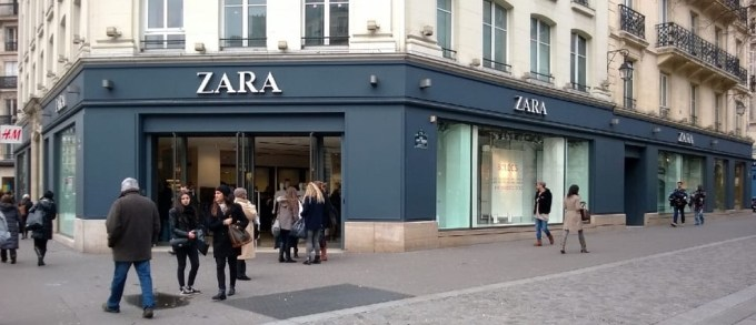 Magasin Zara Paris - Hotel de Ville