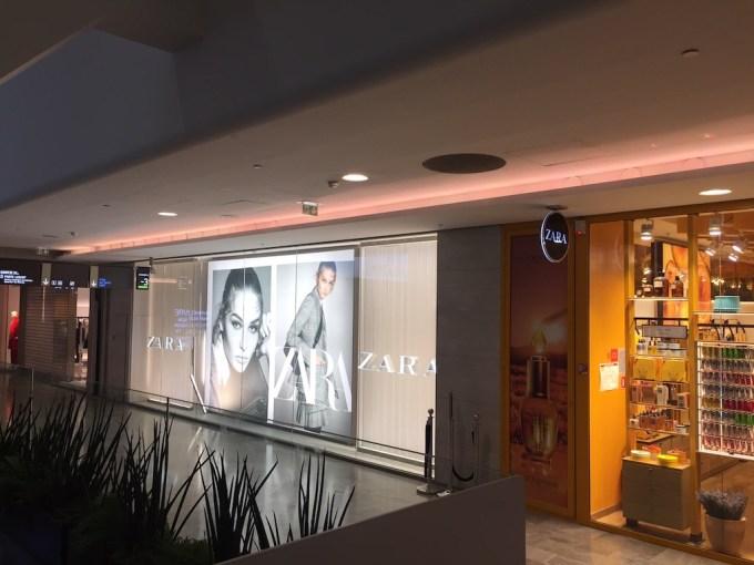 Zara au centre commercial des Halles à Paris