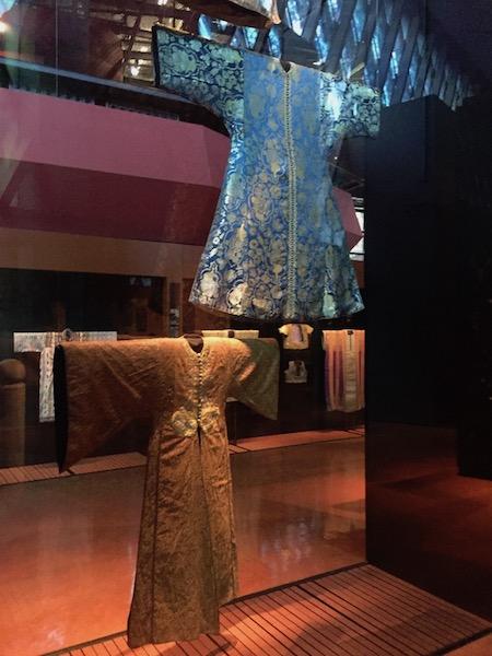Kaftans au Musée du Quai Branly