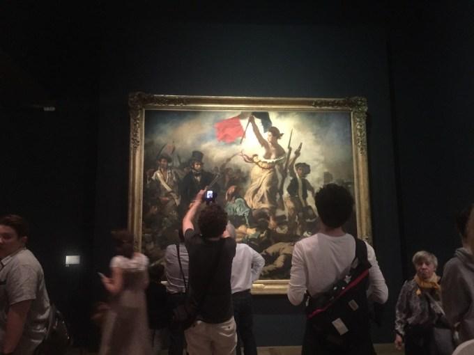 La Liberté Guidant le Peuple au Louvre