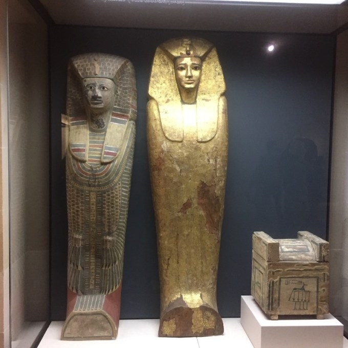 Sarcophages égyptiens au Louvre