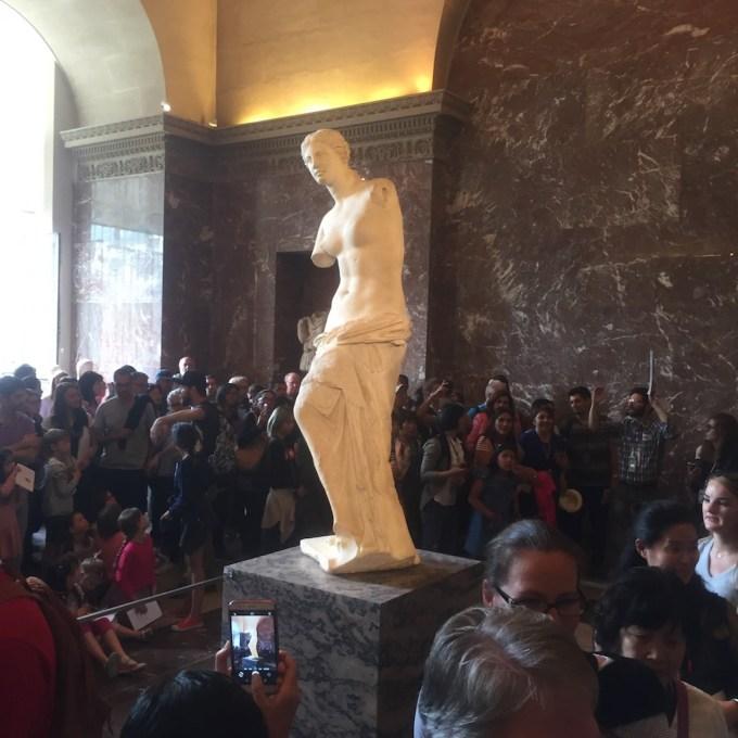Venus de Milo au Louvre