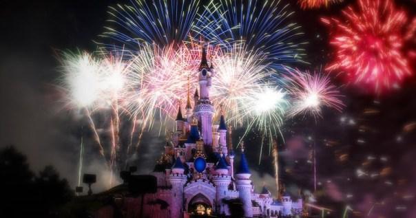 Feu d'Artifice Disney