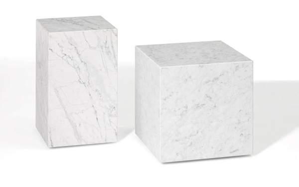 Table en marbre blanc modèle Paris pour salle à manger