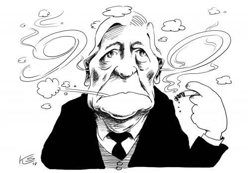 Cartoon: Helmut Schmidt (medium) by Stuttmann tagged helmut,schmidt,90,jubiläum,geburtstag,spd,altkanzler,helmut schmidt,portrait,karikatur,illustration,90,jubiläum,geburtstag,spd,altkanzler,kanzler,bundeskanzler,rauchen,rauch,helmut,schmidt