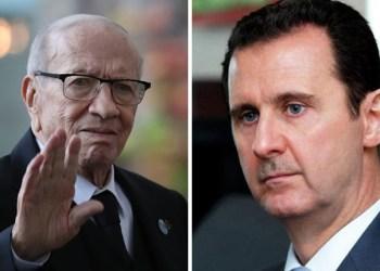 Le président syrien, Bachar al-Assad, rend un hommage solennel à Béji Caïd Essebsi