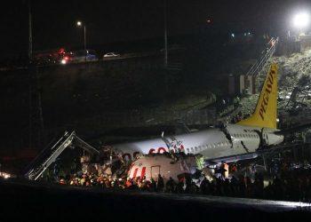 Turquie/Accident d'avion à Istanbul : 3 morts et 179 blessés