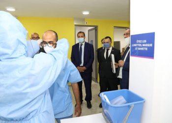 Tunisie : un hôpital de campagne inauguré à la cité sportive d'El-Menzah