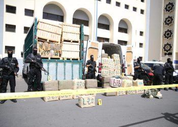 Maroc : saisie record de 13 tonnes de résine de cannabis