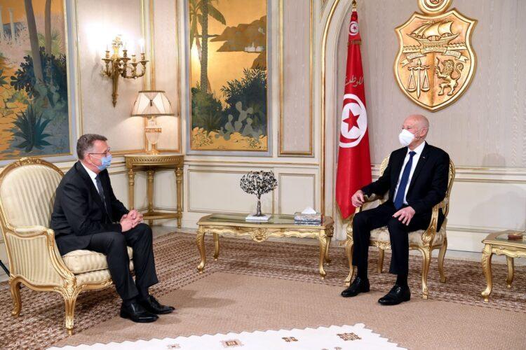 Accréditation du nouvel Ambassadeur d'Allemagne en Tunisie