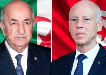 Le Président Algérien reçoit un appel téléphonique de son homologue tunisien