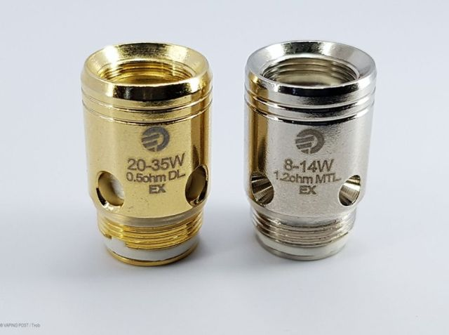 Exceed D22 Resistors from Joyetech