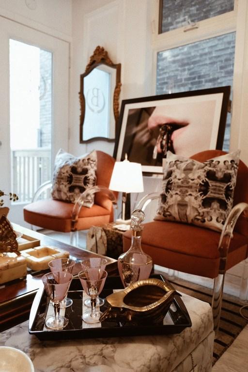 Boutique de déco vintage Bettencourt Manor dans l'est de Toronto