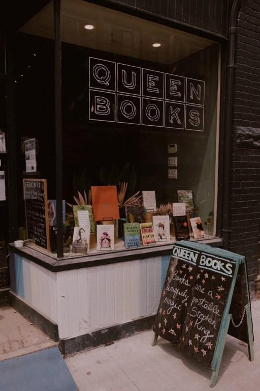 Librairie dans l'est de Toronto