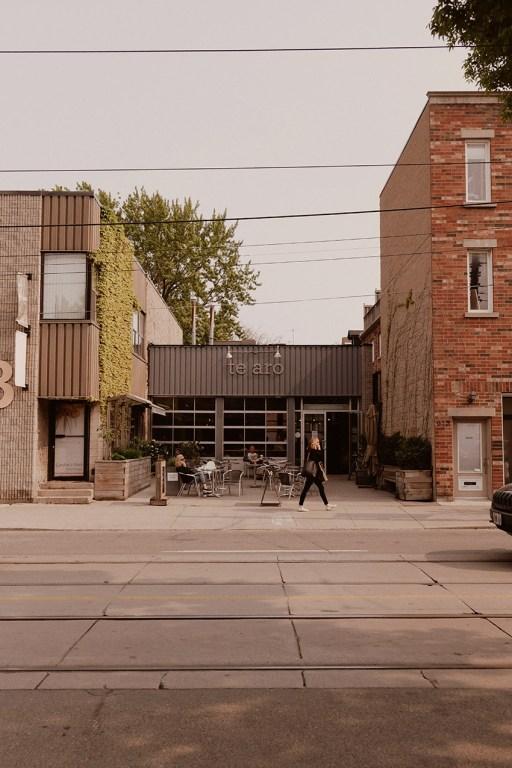 Café Te Aro dans l'est de Toronto