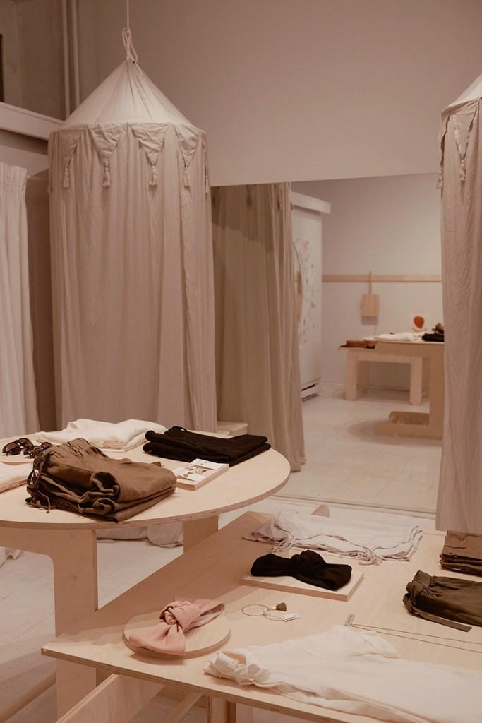 Nouvelle boutique mode Naïf dans le Mile End à Montréal