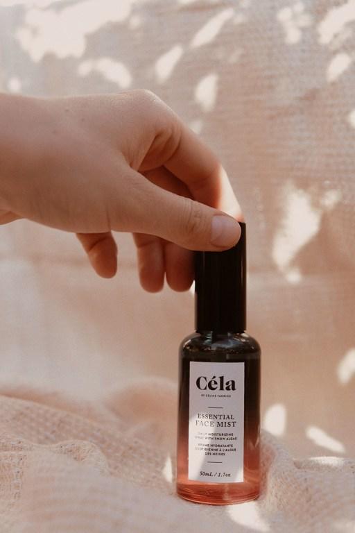 Brume pour le visage à base de noix de coco et d'aloès par Céla