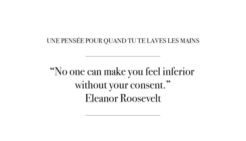 Citation par Eleanor Roosevelt