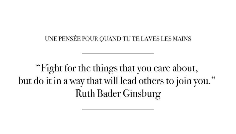 Citation par Ruth Bader Ginsburg